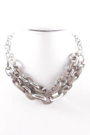Halskette silberfarben Casual-Look