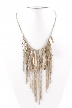 Necklace gold-colored business style