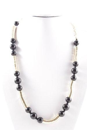 Pearl Necklace gold-colored-black elegant