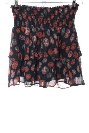 Flounce Skirt allover print elegant