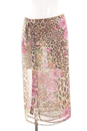 Wraparound Skirt flower pattern elegant