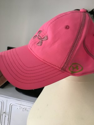 Under amour cap  neon Pink
