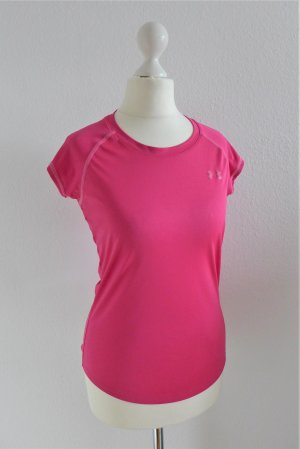 Under Armour Sport heatgear Catalyst Shirt Laufshirt pink Gr. XS 34