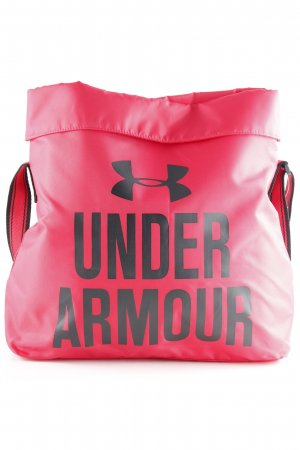 Under armour Canvas Bag raspberry-red-black graphic pattern athletic style