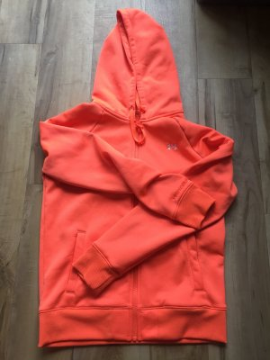 Under armour Sweatjack neonoranje-oranje