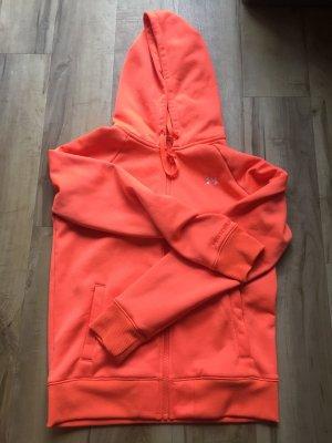 Under armour Sweat Jacket neon orange-orange
