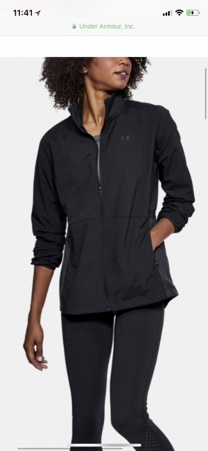 Under armour Windbreaker black