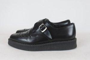 UNDERGROUND Schuhe Gr. 37 schwarz Leder