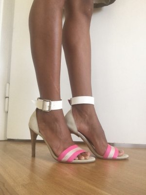 Ungaro High Heel Sandal multicolored suede