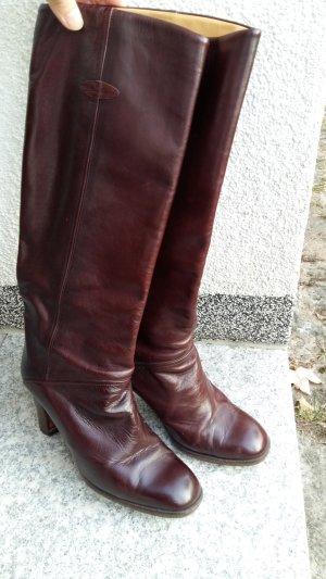 Aigner Jackboots brown-bordeaux