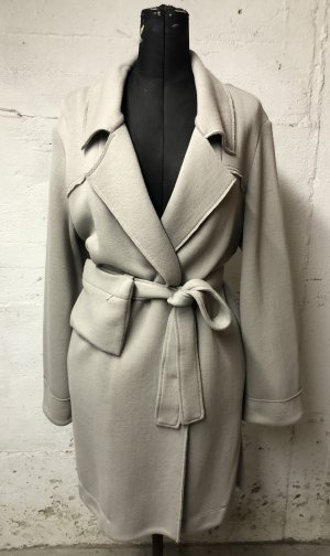 Ania Schierholt Oversized jas lichtgrijs