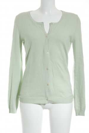 Unger Cardigan pale green fluffy