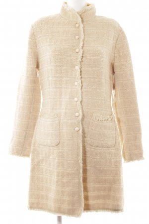 Unger Knitted Coat cream-oatmeal classic style