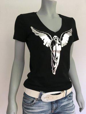 Ungetragen! ESPRIT collection Edles T-Shirt V-Neck Angel schwarz Gr.M