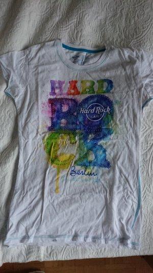 ungetragen Hard Rock Cafe Berlin Shirt mit Strasssteinchen