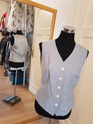 Alba Moda Waistcoat light grey