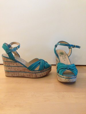 Wedge Sandals petrol