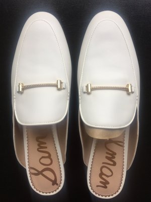 ungetragen - Sam Edelman Laurna Mule bright white leather