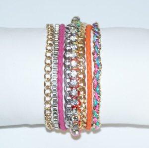 Bracelet multicolore pas d'indication de matériau disponible