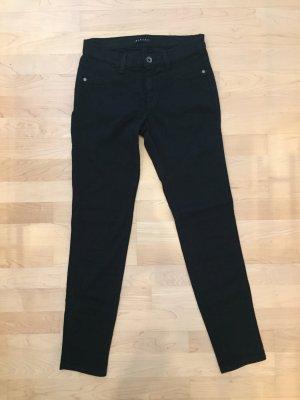 Sisley Jeans skinny nero Cotone