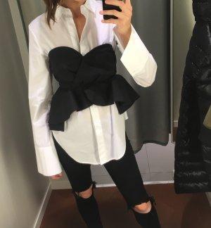 Ungetragen! SET! Bustier Bluse und normale Hemdbluse