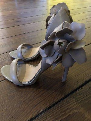 Badgley Mischka High Heel Sandal light grey-beige