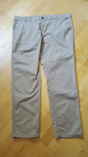 Yessica Chinos oatmeal cotton