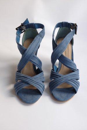 Ungetragene blaue Sandaletten von Dorothy Perkins