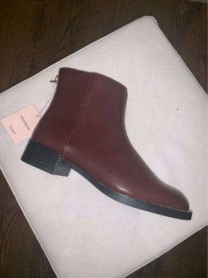 Pull & Bear Chelsea Boots bordeaux