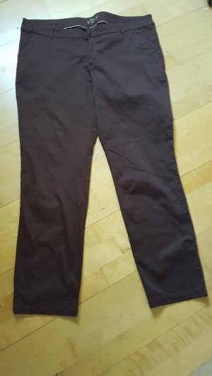 Yessica Chinos brown cotton