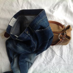 Ungetragene Dondup jeans in used look