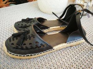 Even & Odd Espadrille sandalen zwart