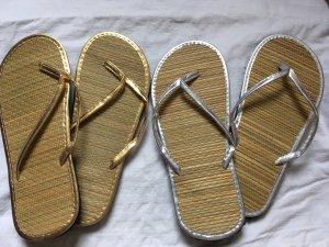 Ungetragene Flip Flops