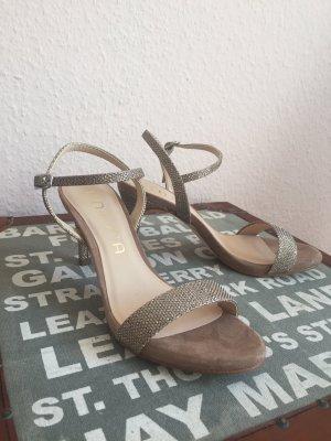 Ungetragene Glitzer Schuhe Hochzeit von Unisa 38