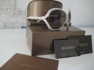 ungetragene GUCCI Sonnenbrille in beige