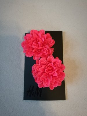 Ungetragene Haarspangen Blumen