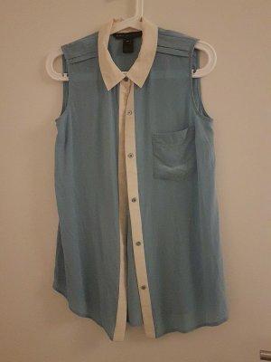 ungetragene hellblaue Seiden-Bluse von Marc by Marc Jacobs