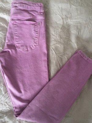 Zara Vaquero skinny rosa-rosa