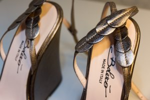 Platform Sandals rose-gold-coloured