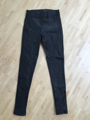 Orsay Leather Trousers black