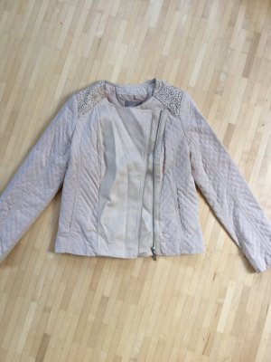 Orsay Faux Leather Jacket camel-natural white
