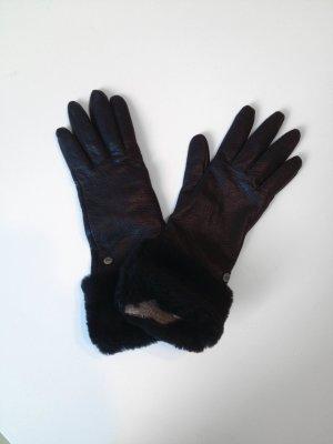 Ungetragene Lederhandschuhe UGG schwarz Gr.M