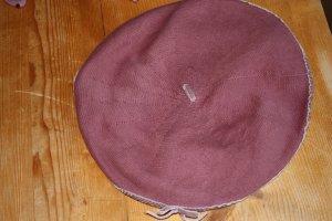Hat dusky pink wool