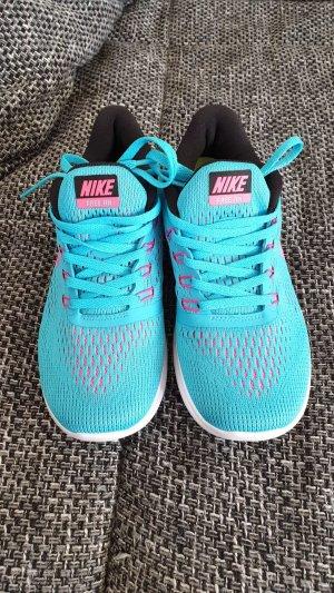 Nike Sneakers met veters violet-turkoois Gemengd weefsel