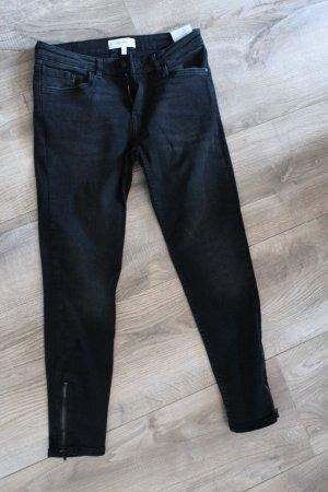 Mango Jeans cigarette noir