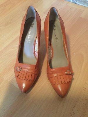 Ungetragene Schicke Tamaris High heels braun