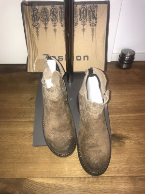 Chelsea Boots brown-camel leather