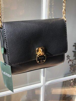 Ungetragene Schwarze Tasche Ralph Lauren Crossbody Umhängetasche
