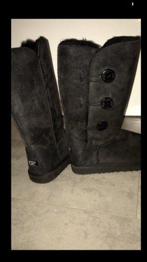 Ungetragene schwarze UGG Damen Boots Lang