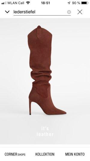 UNGETRAGENE Stiefel (41) aus Wildleder